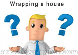 Wrapping a house confusion